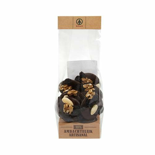 Chocolat Mendiant noir - 150g