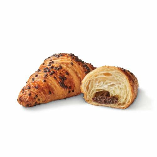 Croissant choco noisettes