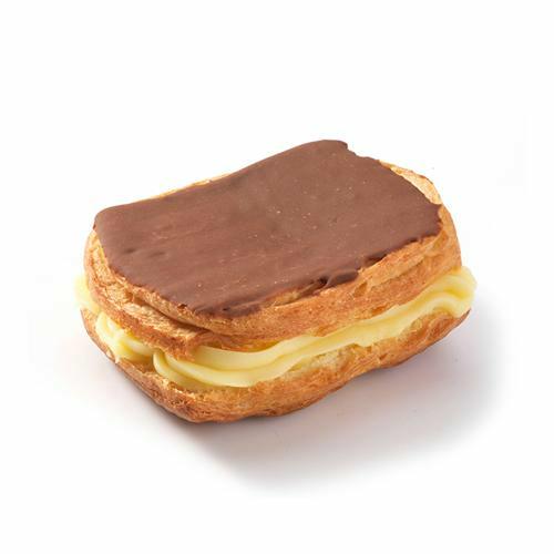 Carré crème chocolat - 2 pc.