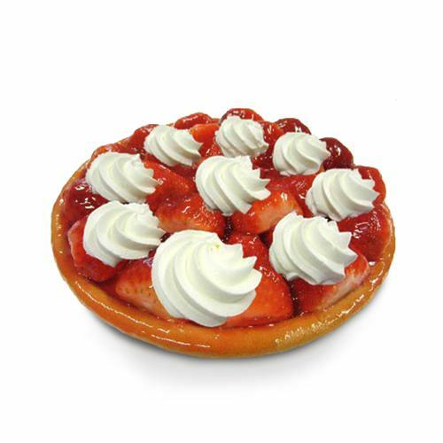 Croûte aux fraises à la crème fraîche - 8 pers.