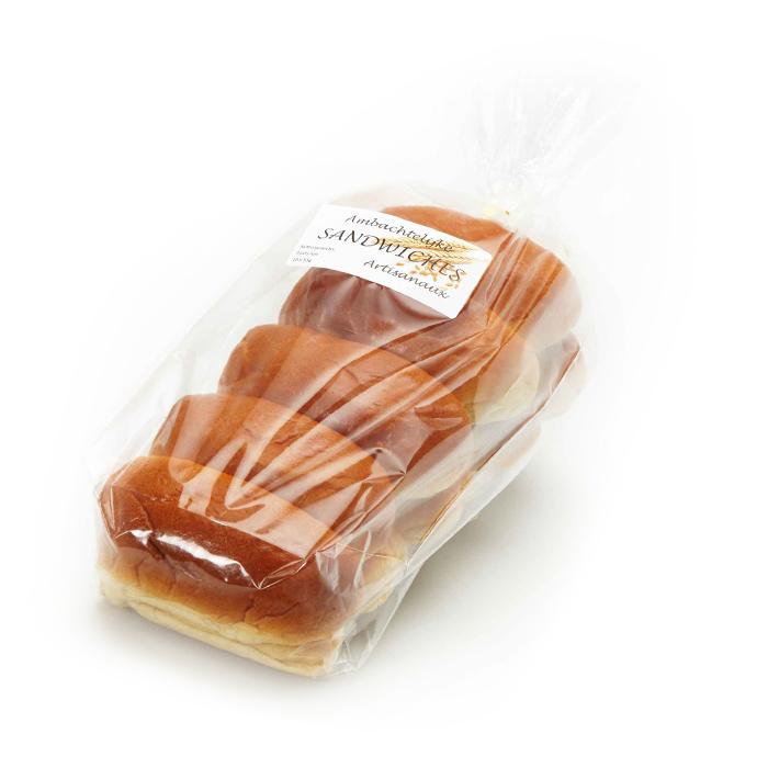 Sandwiches au beurre - 10 pc.