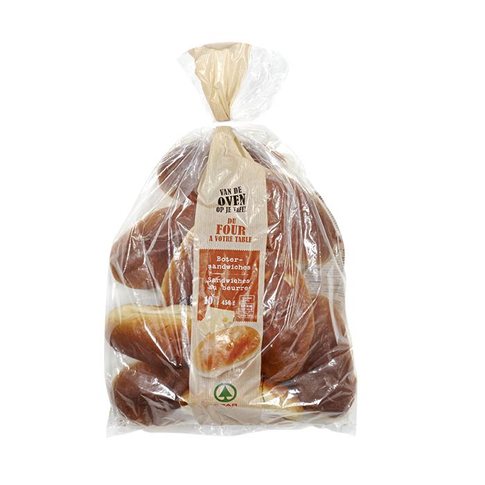 Spar sandwiches au beurre - 10 pc.