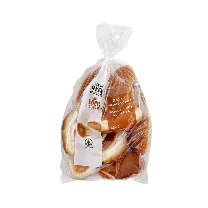 Spar sandwiches au lait - 10 pc.