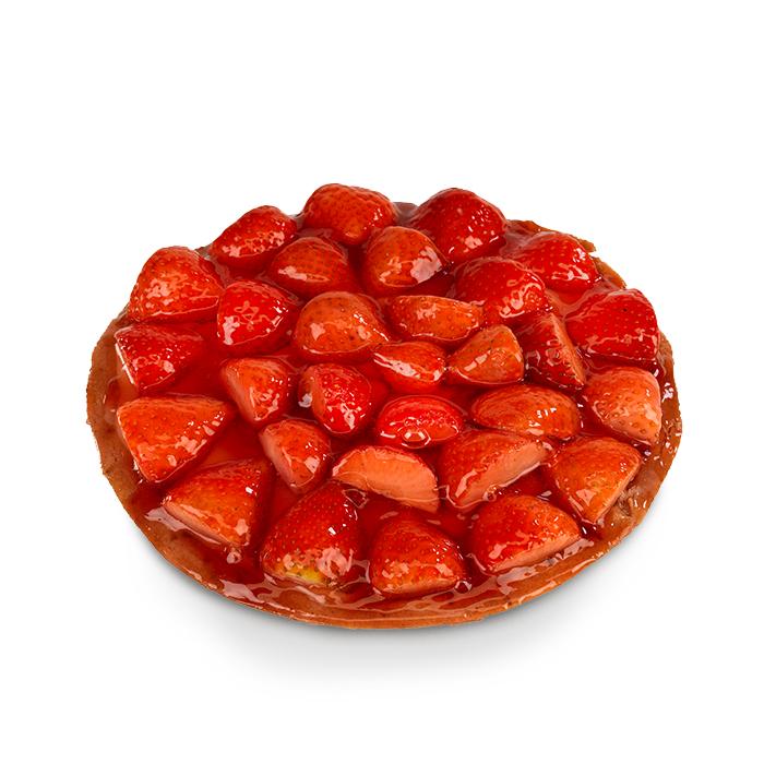 Croûte aux fraises - 8 pers.