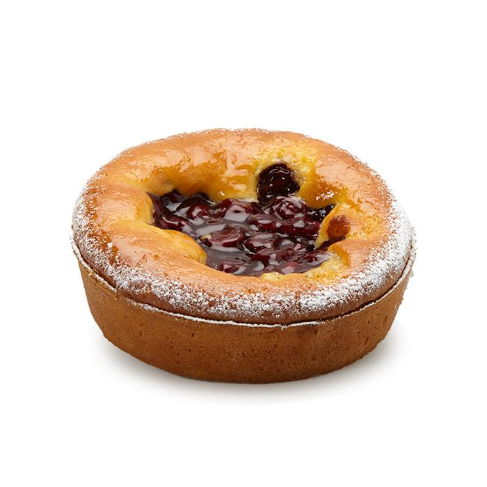 Tarte cake aux cerises - 6 pers.