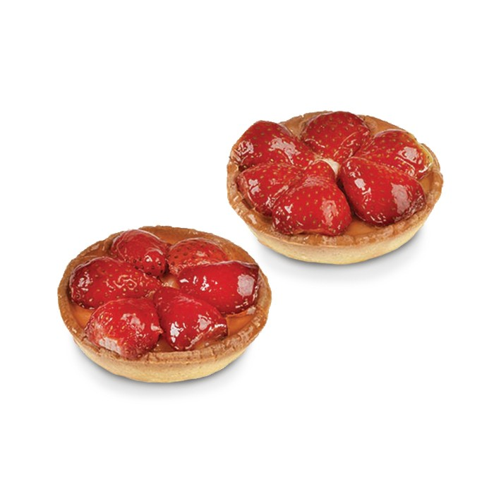 Tartelettes fraises - 2 pc.