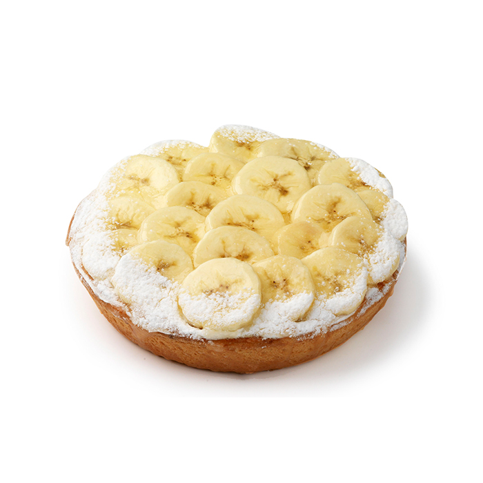 Tarte aux bananes - 2 pers.