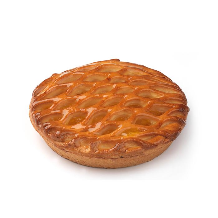 Tarte aux abricots treillée - 2 pers.