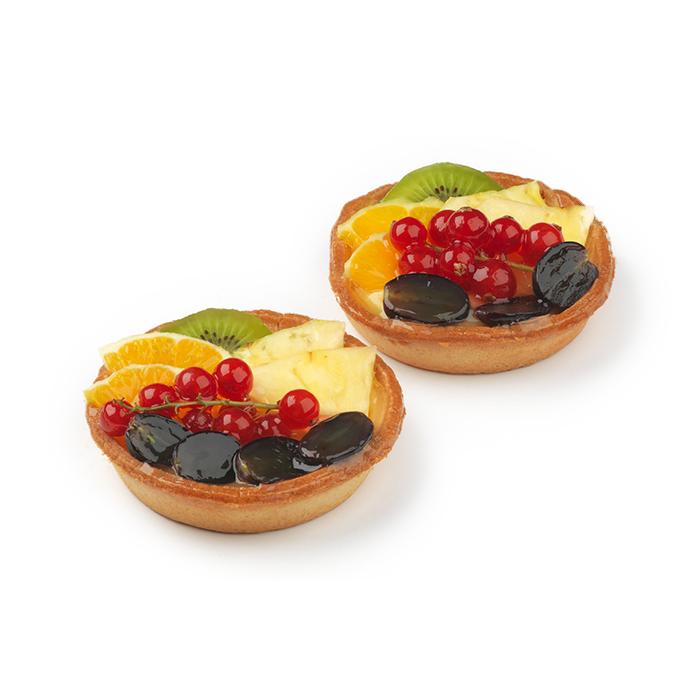 Tartelette aux fruits frais - 2 pc.