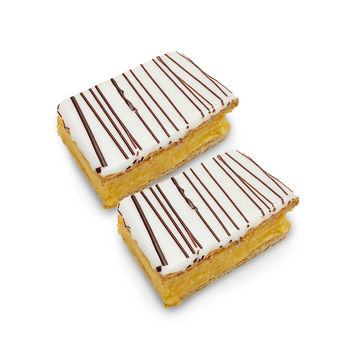 Mille feuille artisanal - 2 pc.