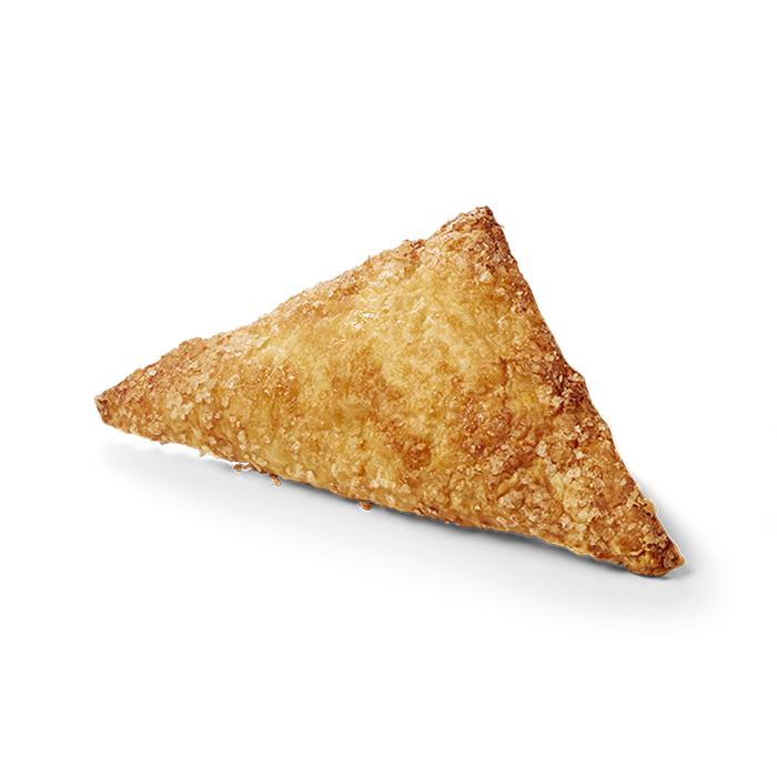 Triangle aux pommes sucre