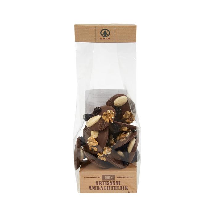 Chocolat Mendiant lait - 150g
