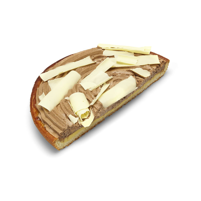 Demi-tarte mousse au chocolat