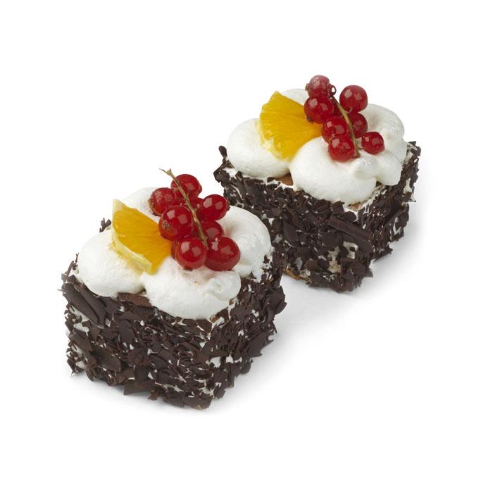 Pt gâteau CF fruits - 2 pc.